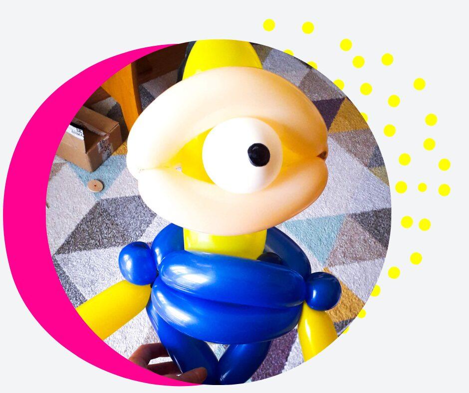 balonowe zoo Rzeszów modelowanie balonów